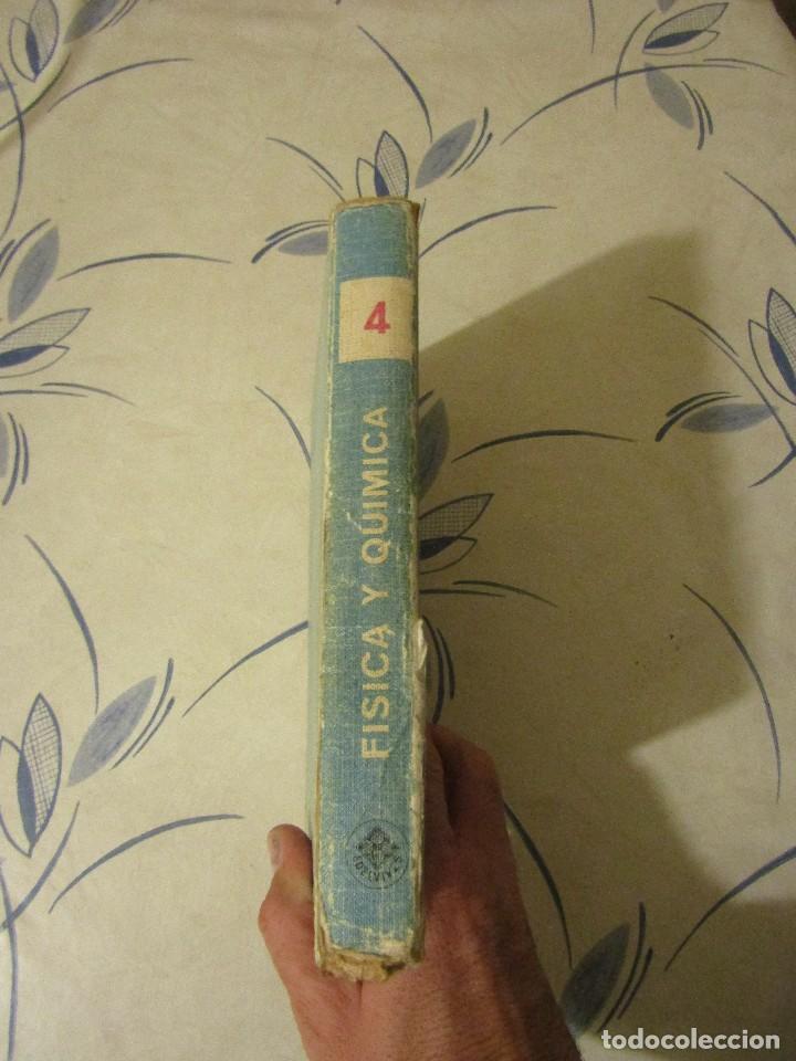 Libros de segunda mano de Ciencias: FISICA Y QUIMICA. Cuarto curso, Edelvives, Luis Vives. 1966. - Foto 3 - 109287479