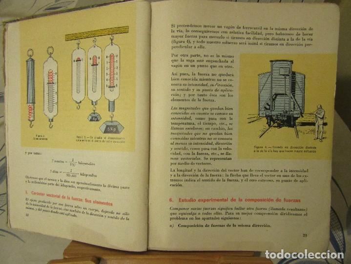 Libros de segunda mano de Ciencias: FISICA Y QUIMICA. Cuarto curso, Edelvives, Luis Vives. 1966. - Foto 4 - 109287479