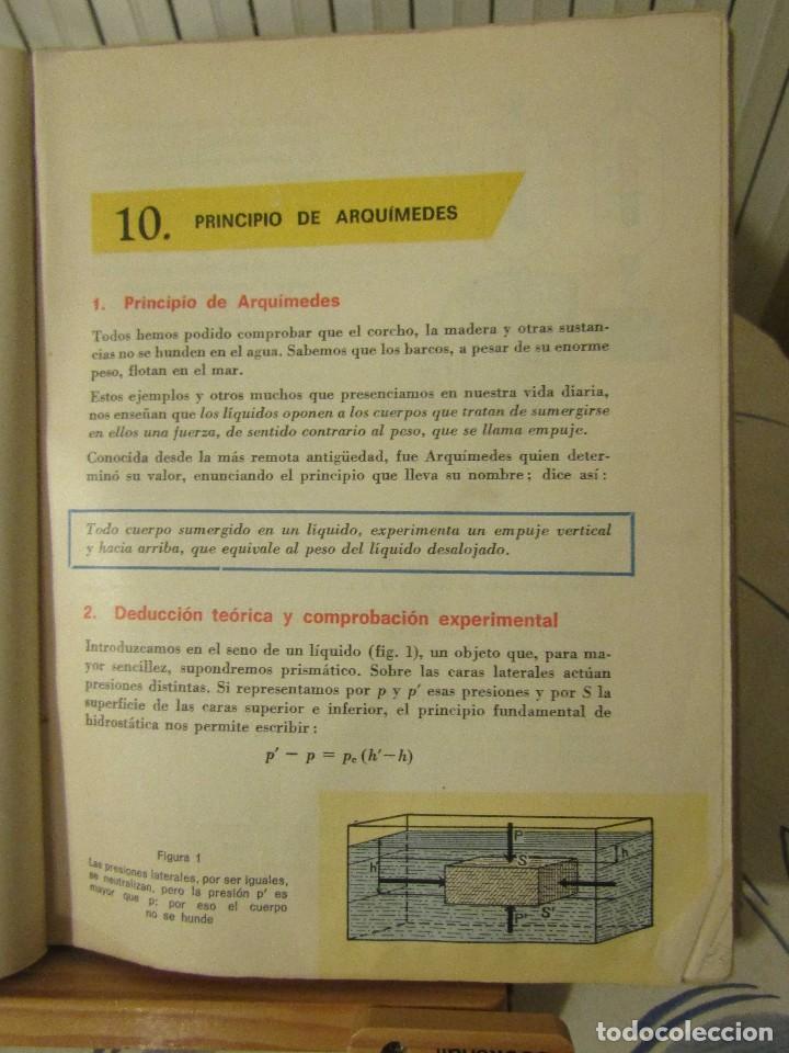 Libros de segunda mano de Ciencias: FISICA Y QUIMICA. Cuarto curso, Edelvives, Luis Vives. 1966. - Foto 5 - 109287479