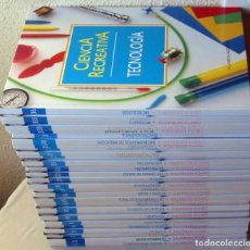 Libros de segunda mano de Ciencias: CIENCIA RECREATIVA - 36 LIBROS COMPLETA - PLANETA-AGOSTINI 1992 - VER DESCRIPCIÓN Y FOTOS. Lote 109535015