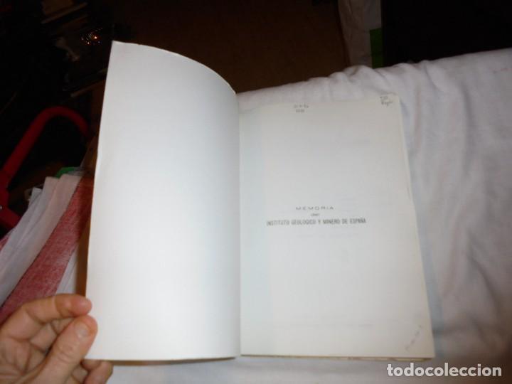 Libros de segunda mano: EL PALEOZOICO INFERIOR Y MEDIO DE LA CORDILLERA CANTABRICA ENTRE LOS RIOS PORMA Y BERNESGA(LEON) - Foto 2 - 109613611