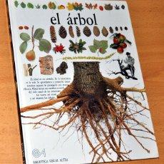 Libros de segunda mano: LIBRO TAPA DURA: BIBLIOTECA VISUAL ALTEA - EL ÁRBOL - EDITORIAL SANTILLANA - AÑO 1992. Lote 110145471