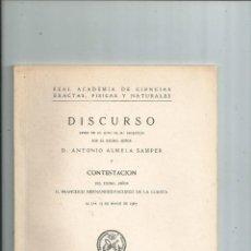 Libros de segunda mano: TECTONICA PIRENAICA ANTONIO ALMELA SAMPER FRANCISCO HERNÁNDEZ-PACHECO. Lote 110347075