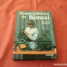 Libros de segunda mano: TRATADO PRÁCTICO DE BONSAI - WOLFGANG KAWOLLEK. Lote 110375415