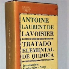 Libros de segunda mano de Ciencias: TRATADO ELEMENTAL DE QUIMICA. Lote 110423027