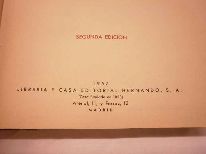 Libros de segunda mano de Ciencias: PROBLEMAS ESCOLARES HERNANDO 1957 - Foto 3 - 110573911