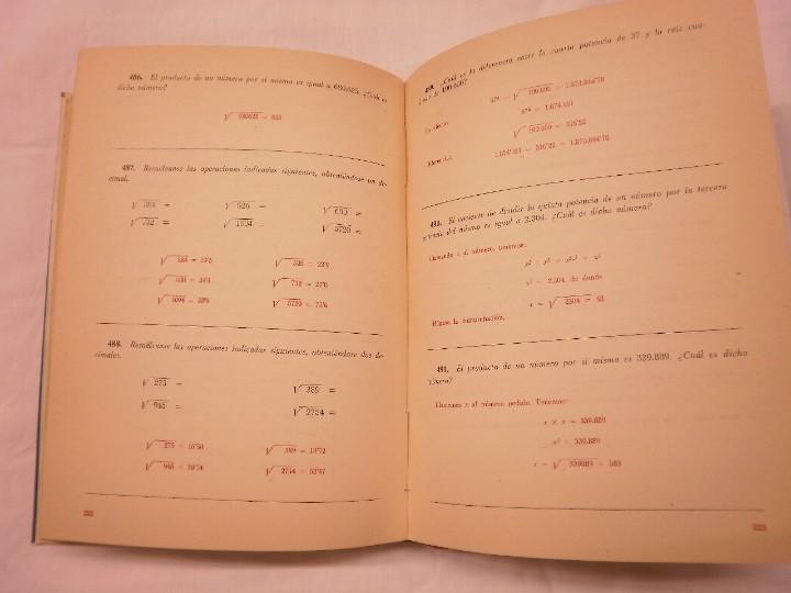 Libros de segunda mano de Ciencias: PROBLEMAS ESCOLARES HERNANDO 1957 - Foto 5 - 110573911