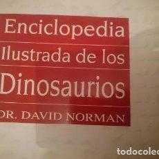 Libros de segunda mano: ENCICLOPEDIA ILUSTRADA DE LOS DINOSAURIOS -DAVID NORMAN -VER FOTOS. Lote 110815743