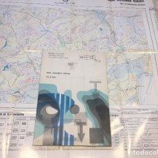 Libros de segunda mano: MAPA GEOTECNICO GENERAL ECHE E 1/200.000 MINISTERIO DE INDUSTRIA 1973 HOJA 7-9 72. Lote 111359495