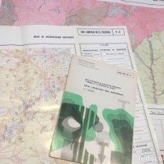 Libros de segunda mano: MAPA GEOTECNICO DE ORDENACION TERRITORIAL SAN LORENZO DEL ESCORIAL E 1/100.000 HOJA 9-11 1976. Lote 111359995