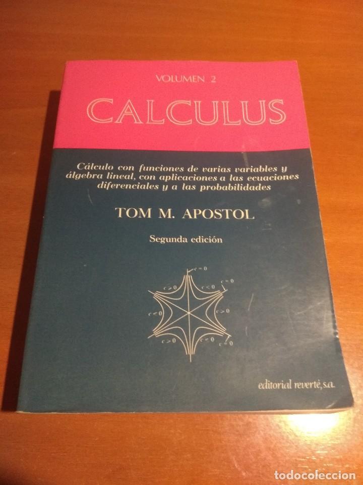 (PDF) Calculus Vol. 2. - Tom M. Apostol - 2ED | B.R. R. R ...