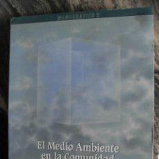 Libros de segunda mano: EL MEDIO AMBIENTE EN LA COMUNIDAD VALENCIANA,1987,VV.AA. 417 PP. 22X30 00018. Lote 111476107