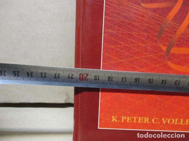 Libros de segunda mano de Ciencias: Química Orgánica. Por K. Peter C. Vollhardt y Neil E. Schore. Ediciones Omega - Foto 4 - 111523059