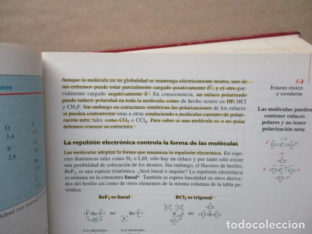 Libros de segunda mano de Ciencias: Química Orgánica. Por K. Peter C. Vollhardt y Neil E. Schore. Ediciones Omega - Foto 14 - 111523059