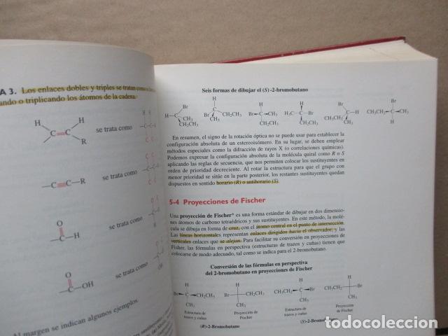 Libros de segunda mano de Ciencias: Química Orgánica. Por K. Peter C. Vollhardt y Neil E. Schore. Ediciones Omega - Foto 18 - 111523059