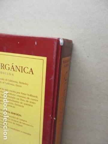Libros de segunda mano de Ciencias: Química Orgánica. Por K. Peter C. Vollhardt y Neil E. Schore. Ediciones Omega - Foto 21 - 111523059