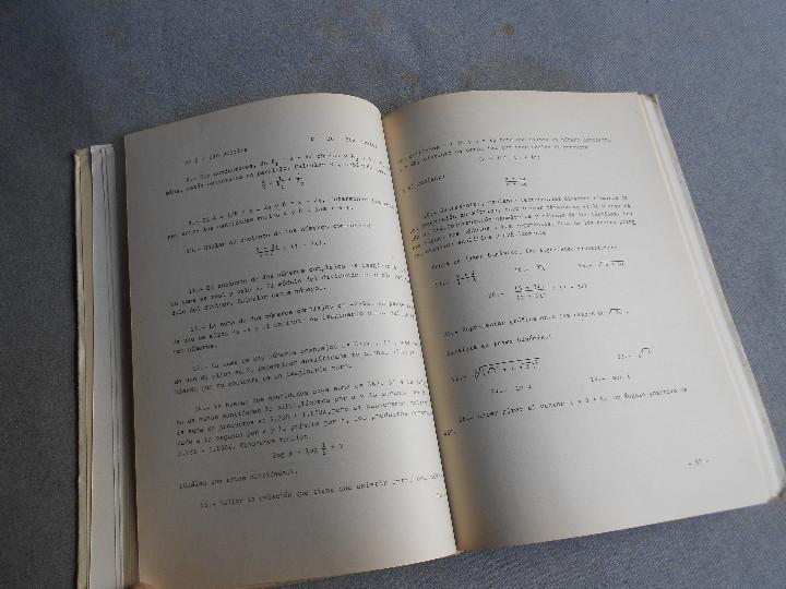 Libros de segunda mano de Ciencias: PROBLEMAS DE CALCULO INFINITESIMAL - Foto 4 - 111796055