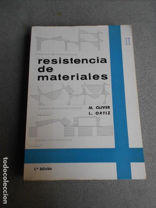 RESISTENCIA DE MATERIALES. TOMO II (Libros de Segunda Mano - Ciencias, Manuales y Oficios - Física, Química y Matemáticas)