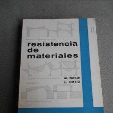 Libros de segunda mano de Ciencias: RESISTENCIA DE MATERIALES. TOMO II. Lote 111805023