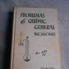 Libros de segunda mano de Ciencias: PROBLEMAS DE QUIMICA GENERAL. Lote 111810987