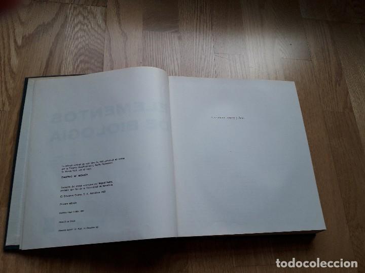 Libros de segunda mano: ELEMENTOS DE BIOLOGÍA / PAUL B. WEISZ / EDICIONES OMEGA, 1ª EDICIÓN - 1968 - Foto 3 - 111848423