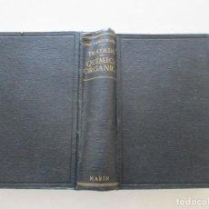 Libros de segunda mano de Ciencias: DR. PABLO KARRER. TRATADO DE QUÍMICA ORGÁNICA. RM85532. . Lote 111885531
