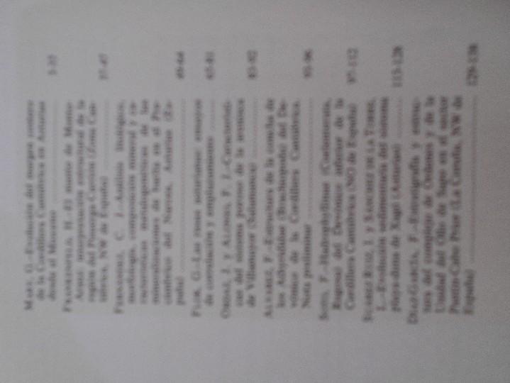 Libros de segunda mano: TRABAJOS DE GEOLOGIA. Nº 13. FACULTAD DE CIENCIAS. UNIVERSIDAD DE OVIEDO. 1983. RUSTICA. 370 GRAMOS. - Foto 3 - 58433128
