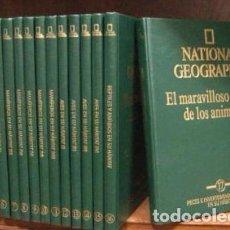 Libros de segunda mano: NATIONAL GEOGRAPHIC, EL MARAVILLOSO MUNDO DE LOS ANIMALES, 17 VOLUMENES ( 15 PRECINTADOS ). Lote 112039099