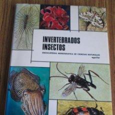 Libros de segunda mano: INVERTEBRADOS INSECTOS - ENCICLOPEDIA MONOGRÁFICA DE CIENCIAS NATURALES Nº 3 - ED. AGUILAR 1974. Lote 112126051