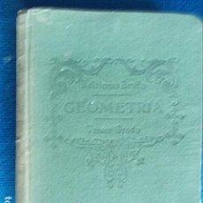 Libros de segunda mano de Ciencias: EDICIONES BRUÑO GEOMETRÍA TERCER GRADO. Lote 112500559