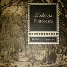 Libros de segunda mano: ZOOLOGÍA PINTORESCA. BIBLIOTECA HISPANIA. EDITORIAL RAMÓN SOPENA. AÑO 1969. CARTONÉ. LAMINAS EN COLO. Lote 112570739