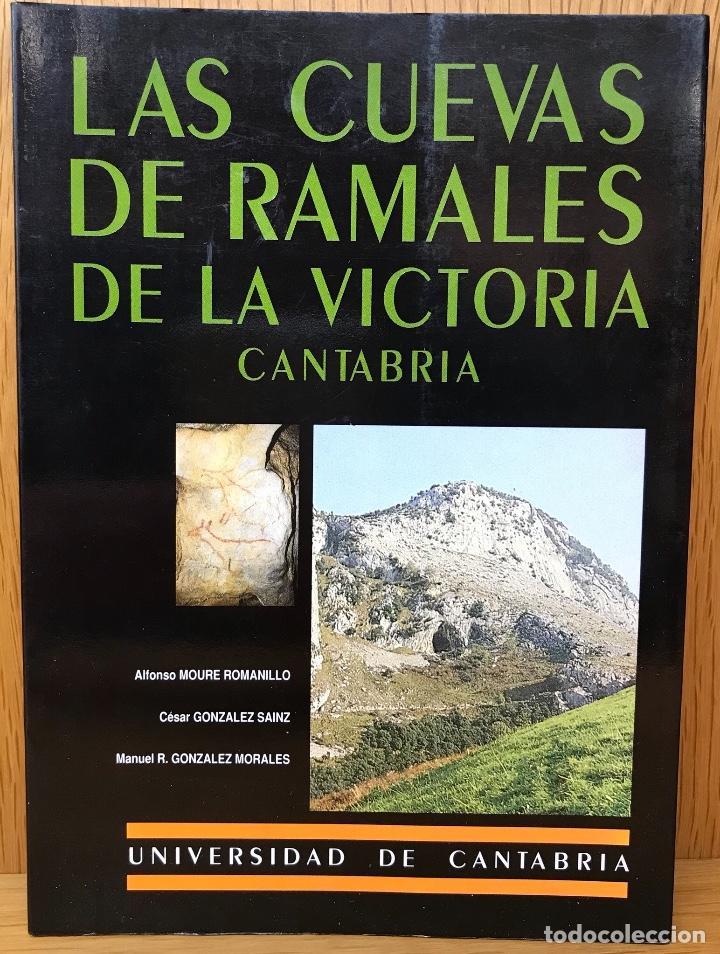 LAS CUEVAS DE RAMALES DE LA VICTORIA - CANTABRIA - ESPELEOLOGÍA (SANTANDER, 1991) (Libros de Segunda Mano - Ciencias, Manuales y Oficios - Paleontología y Geología)