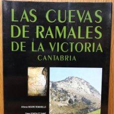 Libros de segunda mano: LAS CUEVAS DE RAMALES DE LA VICTORIA - CANTABRIA - ESPELEOLOGÍA (SANTANDER, 1991). Lote 112607279