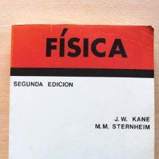 Libros de segunda mano de Ciencias: KANE Y STERNHEIM - FÍSICA - REVERTÉ 1989. Lote 112860783