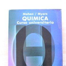 Libros de segunda mano de Ciencias: MAHAN Y MYERS - QUÍMICA. CURSO UNIVERSITARIO - ADDISON-WESLEY IBEROAMERICANA 1990. Lote 112861263