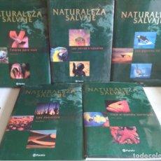 Libros de segunda mano: NATURALEZA SALVAJE, EDITORIAL PLANETA, 5 TOMOS CON BONITAS IMAGENES, LIBROS . Lote 112874035