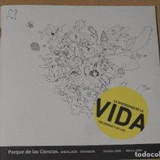 Libros de segunda mano: LA DIVERSIDAD DE LA VIDA PARQUE DE LAS CIENCIAS DE GRANADA. Lote 182988011