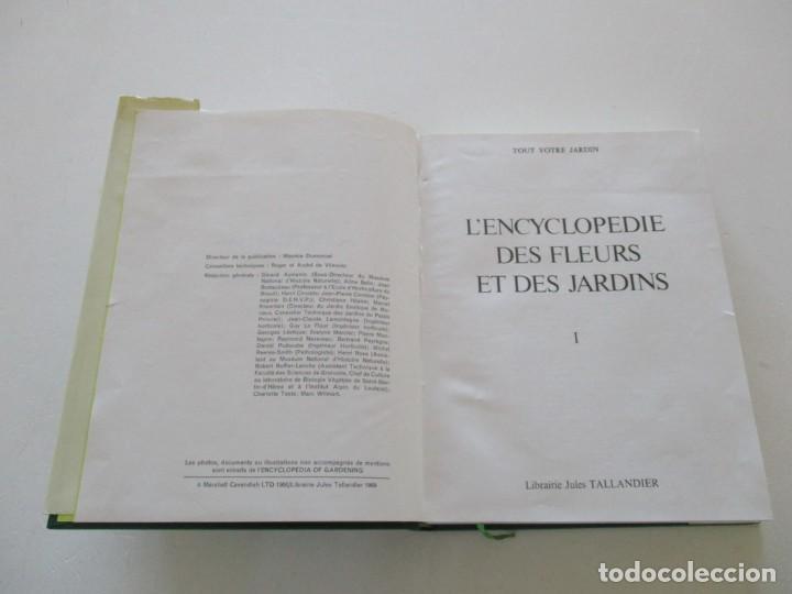 Libros de segunda mano: MAURICE DUMONCEL (DIR.). L'Encyclopedie des Fleurs et des Jardins. TRES TOMOS. RM85625. - Foto 2 - 112996615