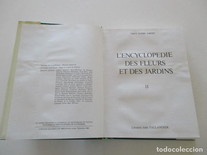 Libros de segunda mano: MAURICE DUMONCEL (DIR.). L'Encyclopedie des Fleurs et des Jardins. TRES TOMOS. RM85625. - Foto 4 - 112996615