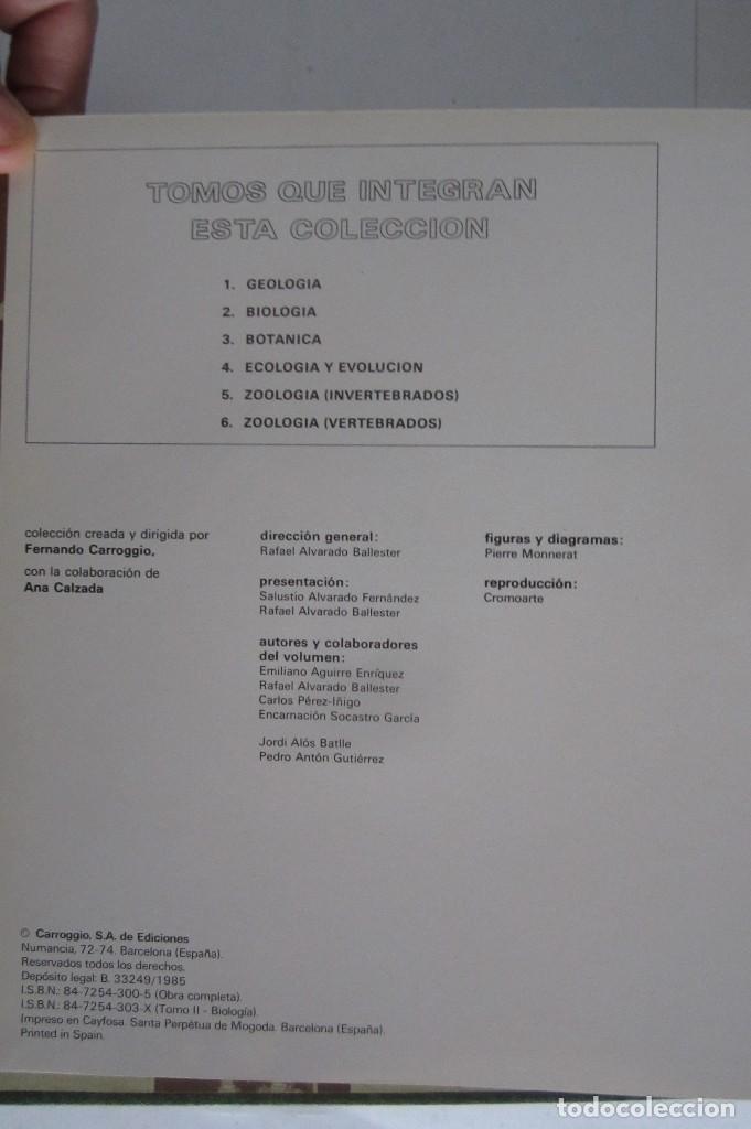 Libros de segunda mano: Historia Natural. De Biblioteca Cultural. Compendio de la vida en todas sus formas - Foto 3 - 113108483