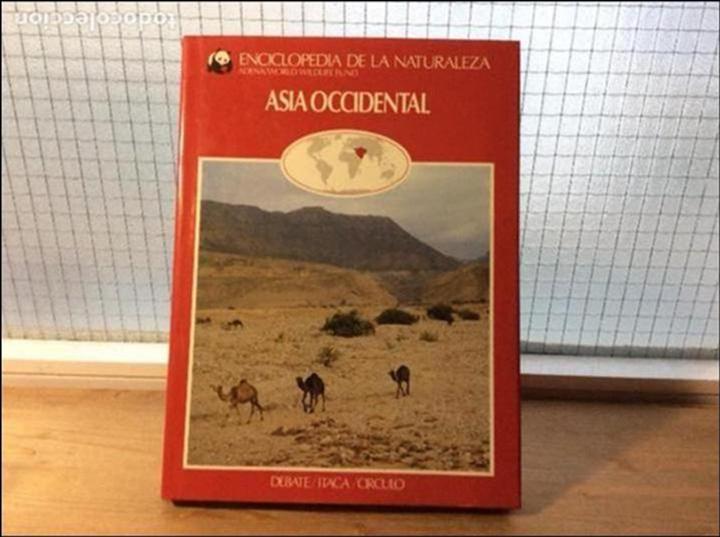 ASIA OCCIDENTAL - ENCICLOPEDIA DE LA NATURALEZA - ADENA / WWF (Libros de Segunda Mano - Ciencias, Manuales y Oficios - Biología y Botánica)