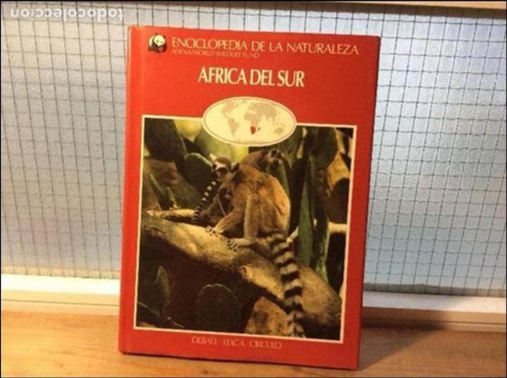 ÁFRICA DEL SUR - ENCICLOPEDIA DE LA NATURALEZA - ADENA / WWF (Libros de Segunda Mano - Ciencias, Manuales y Oficios - Biología y Botánica)