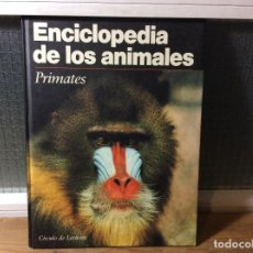 Libros de segunda mano: ENCICLOPEDIA DE LOS ANIMALES - PRIMATES. . Lote 113706087