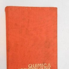 Libros de segunda mano de Ciencias: QUÍMICA UNIVERSITARIA BÁSICA - RAFAEL USON - EDITORIAL ALHAMBRA - 1971. Lote 113709095