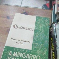 Libros de segunda mano de Ciencias: LIBRO QUÍMICA 5 º 1964 VICENTE ALEIXANDRE ED. SUMMA L-17555. Lote 113905075