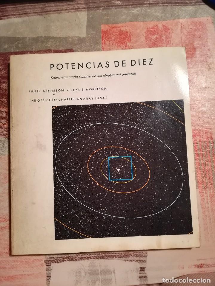 POTENCIAS DE DIEZ. SOBRE EL TAMAÑO RELATIVO DE LOS OBJETOS DEL UNIVERSO - PHILIP Y PHYLIS MORRISON. (Libros de Segunda Mano - Ciencias, Manuales y Oficios - Física, Química y Matemáticas)