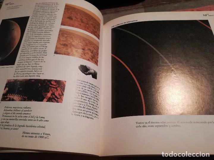 Libros de segunda mano de Ciencias: Potencias de diez. Sobre el tamaño relativo de los objetos del universo - Philip y Phylis Morrison. - Foto 4 - 114345171