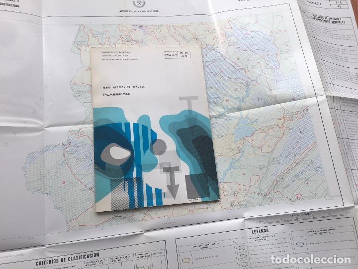 Libros de segunda mano: MAPA GEOTECNICO GENERAL PLASENCIA HOJA 3-6 43 MINISTERIO DE INDUSTRIA IGME 1976 - Foto 2 - 114683539