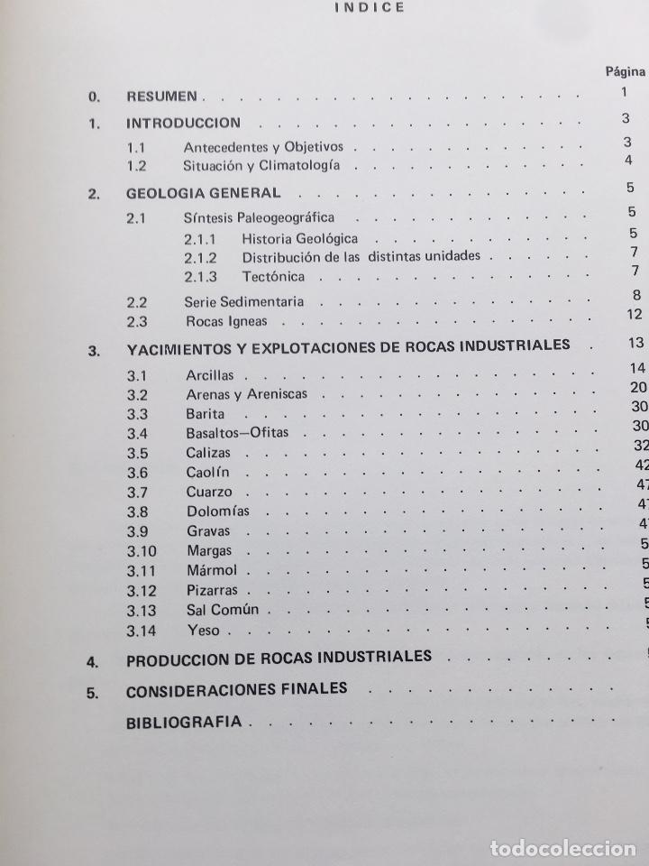 Libros de segunda mano: MAPA DE ROCAS INDUSTRIALES BERMEO BILBAO HOJAS 5-12 MEMORIA 6/1 6/2 ESCALA 1: 200000 IGME 1974 - Foto 3 - 114684479
