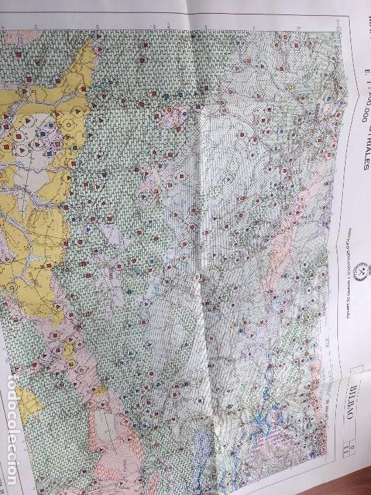 Libros de segunda mano: MAPA DE ROCAS INDUSTRIALES BERMEO BILBAO HOJAS 5-12 MEMORIA 6/1 6/2 ESCALA 1: 200000 IGME 1974 - Foto 4 - 114684479